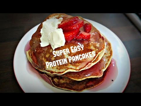 Simple Protein Pancakes Recipe - Only 4 Ingredients