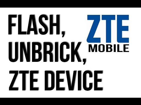 HOW TO FLASH ZTE MOBILES BY FLASH TOOL UNBRICK, UNLOCK