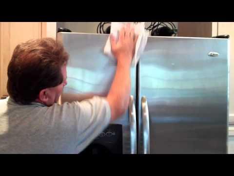Reduce Streaking & Fingerprinting on Stainless Steel Appliances & Sinks DIY Kit