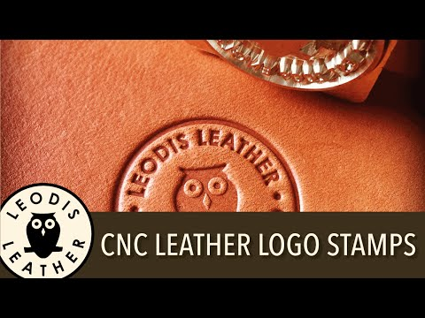 CNC Leather Logo Stamps and Maker's Marks (HEX n HIT)