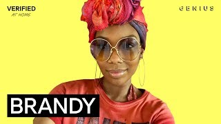 """Brandy """"Baby Mama"""" Official Lyrics & Meaning   Verified"""