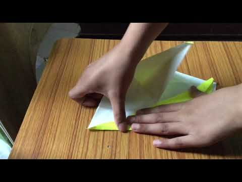 How to make a paper origami flappy bird