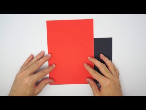 How to cut a square without a diagonal crease - Origami tip #2