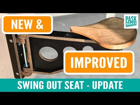 Plywood Swing Seat Upgrade - New & Improved