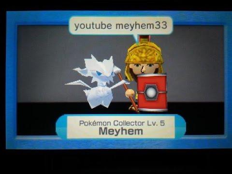 Reshiram catch (Pokemon Rumble World) (3DS)
