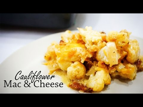 How to Make Cauliflower Mac and Cheese With Bacon! | Recipe Video