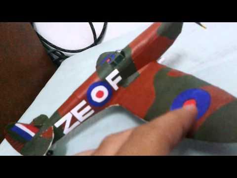 paper model spitfire