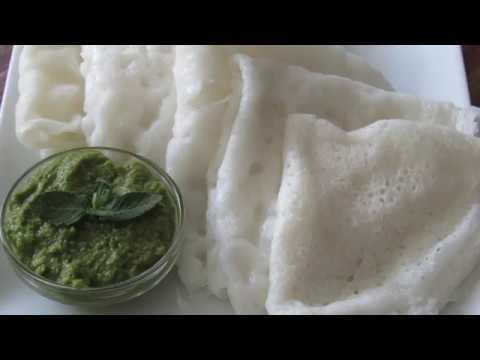 Neer Dosa | How to make Neer Dosa using Basmati Rice