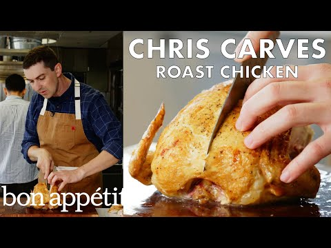 How to Carve A Roast Chicken | From the Test Kitchen | Bon Appetit