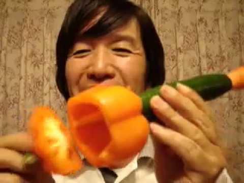 Cucumber trumpet