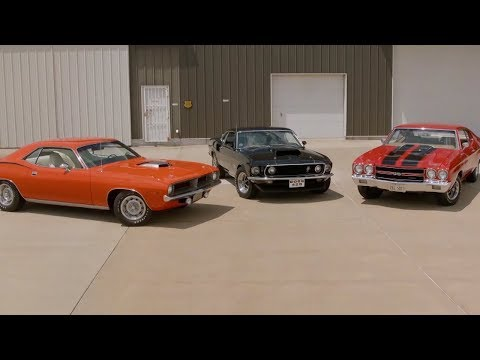 The Top 3 Muscle Cars Ever Made