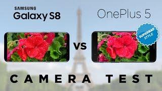 OnePlus 5 vs Galaxy S8 Camera Test Comparison