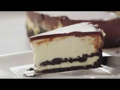 How to Make Chocolate Cookie Cheesecake | Cake Recipes | Allrecipes.com