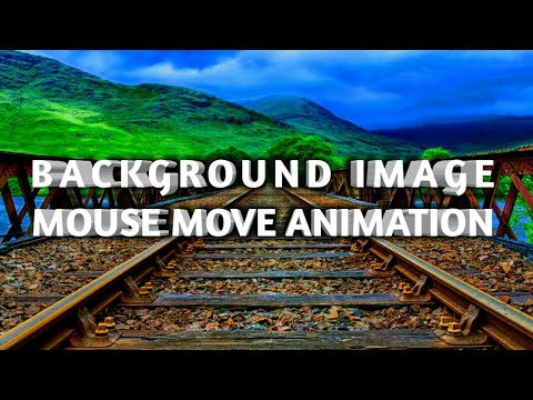 Mousemove animation with html, css and jquery
