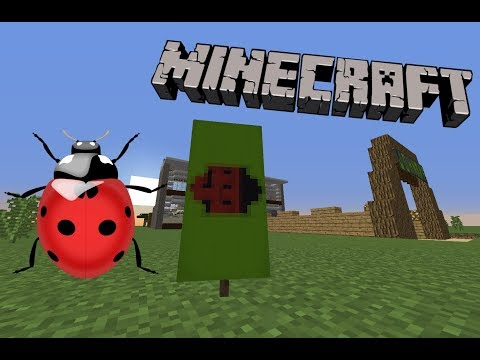 🐞 How to make a Ladybug Banner in Minecraft! 🐞