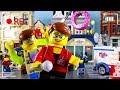LEGO City Donut Shop Fail STOP MOTION LEGO City Donut Shop Grand Opening LEGO City Billy Bricks