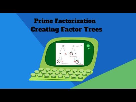 Prime Factorization using Factor Trees