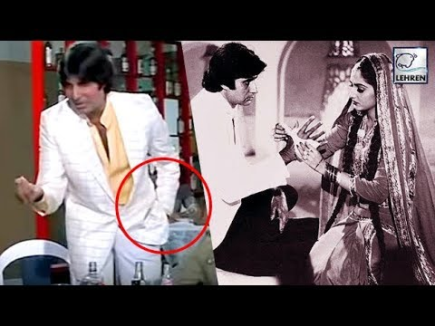 Secret Behind Amitabh Bachchan's Famous Action From Sharabi Movie