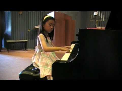 Elysha's Recital on 2010-06-06