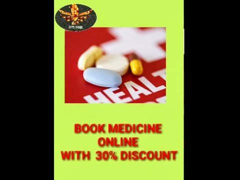 Book medicine online with 30℅ discount through  medlife