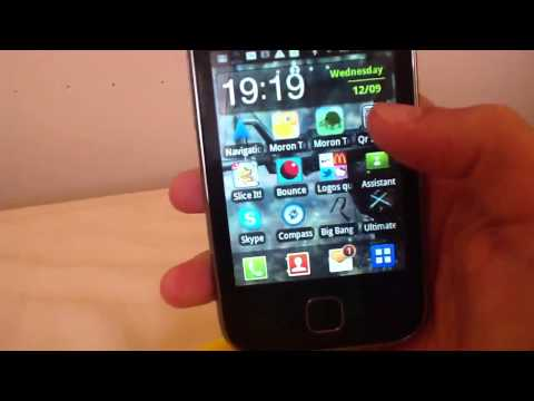 Samsung galaxy y review + How to get free apps on android