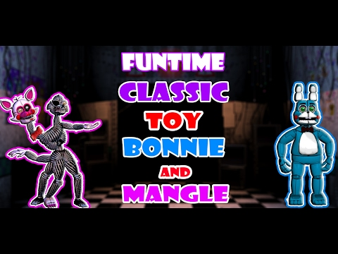 FnaF Speededit|| Funtime Classic Toy Bonnie and Mangle