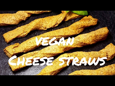 Vegan Wholemeal Cheese Straws Recipe MUST SEE