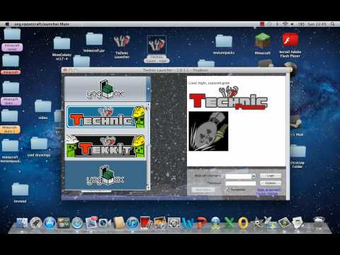 how to download technic launcher on mac 1.2.5