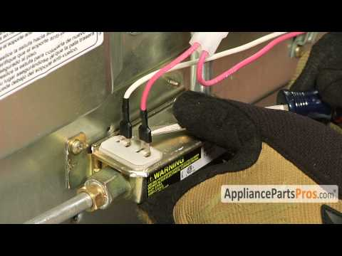 Oven Gas Safety Valve (part #WP98014893)-How To Replace