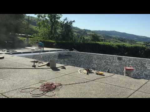 Diving Board Base Removal