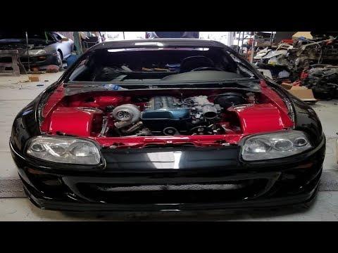 Toyota Supra Engine Bay Wiring Tuck