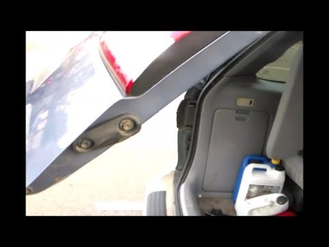 Liftgate wont open Fix it Toyota Sienna
