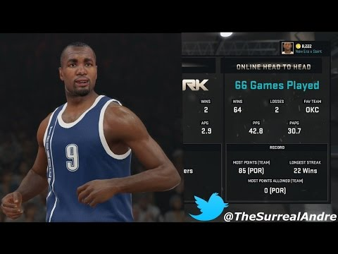 NBA 2K15 Online HeadToHead - Road To 100 Wins