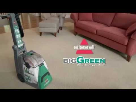 How to use the Big Green Deep Cleaning Machine | BISSELL