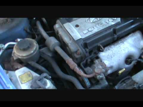 Part 1 Changing Your Timing Belt Accent 1.6L Eng.