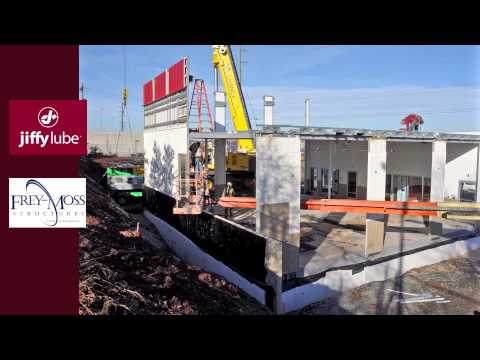 Time Lapse of Jiffy Lube Facility