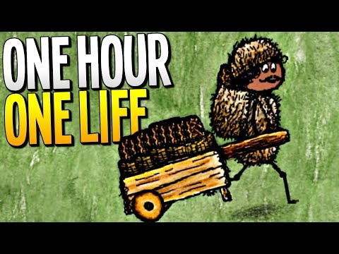 WE SAVE THE MEGA CITY FROM STARVATION BY FINDING THE HIDDEN STASH - One Hour One Life Gameplay