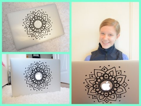 DIY Laptop (MacBook) Sticker -by Ally