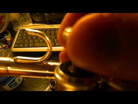 Trumpet tutorial: How to change valve oil & slides
