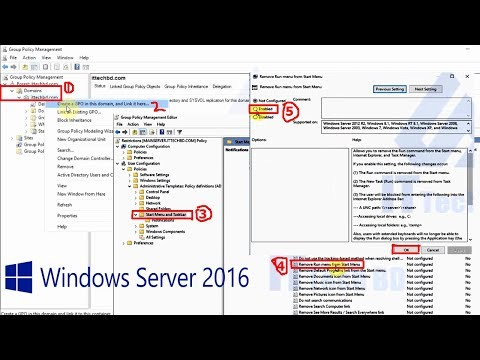 How to create user restrictions on windows server 2016 - 23