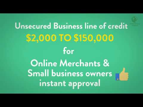 Small Business Line of Credit Instant Approval Bad Credit Okay