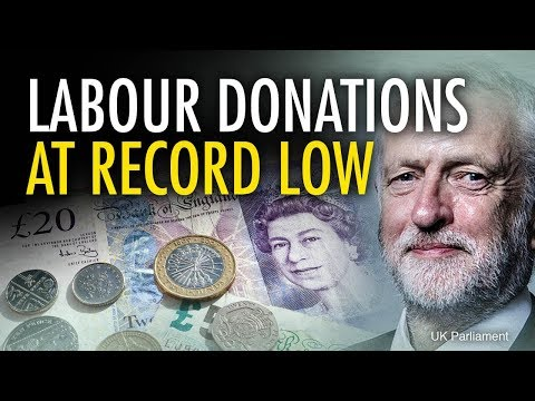 Labour Party donations hit record low | Jack Buckby