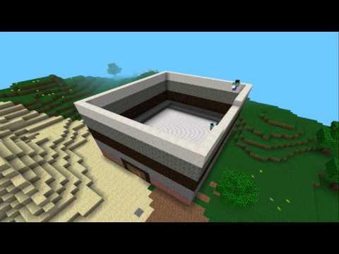 Minecraft PE - Let's Build a Hotel (Creative Mode)