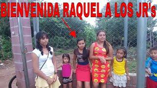La bienvenida para Raquelita al canal Jr. Entrega de ayuda a otros niños de parte de Alejandro G.