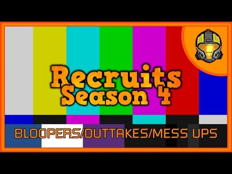 Recruits Season 4 - 25 MINUTES of Bloopers/Outtakes/Mess Ups