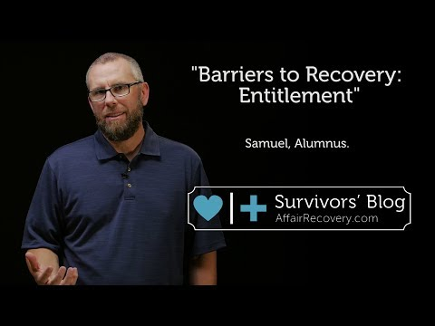 Barriers to Recovery: Entitlement