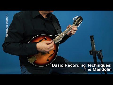 Basic Recording Techniques: The Mandolin