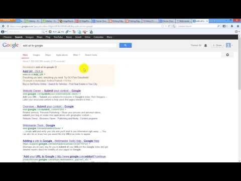 Google Crawler - Getting Adsense Adds to your website - Adding a website URL