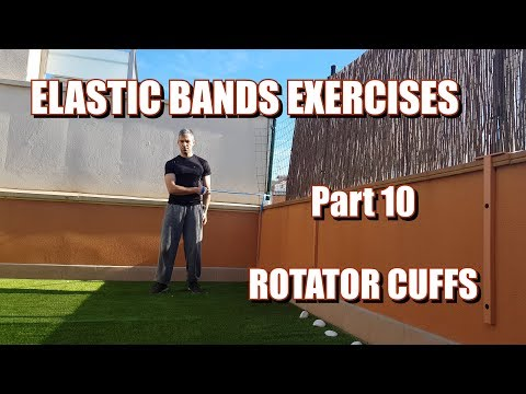 100 RESISTANCE BANDS EXERCISES | PART 10: ROTATOR CUFFS