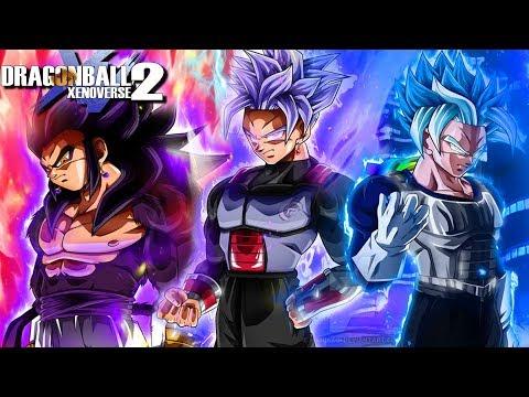 SAIYAN GOD OF DESTRUCTION! The Last Surviving Saiyan Gods Unleashed   Dragon Ball Xenoverse 2 Mods